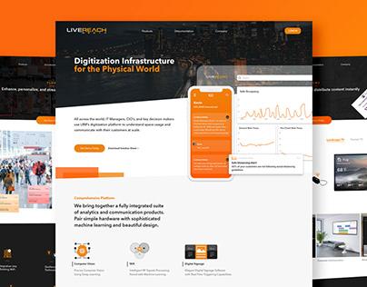 LiveReach Media Website Redesign