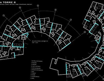 Dibujo Planimetría Torres del parque