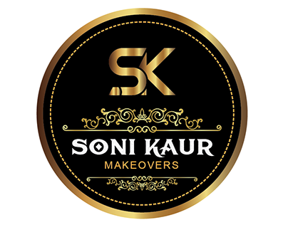 Soni Kaur Makeovers Logo Design