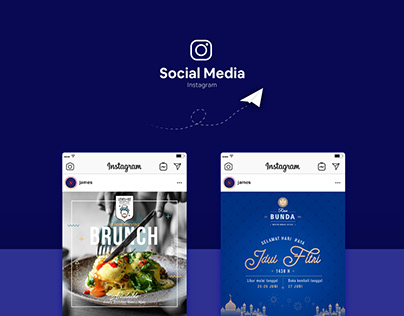 Social Media Design - Rasa Bunda & Level 02 Rooftop