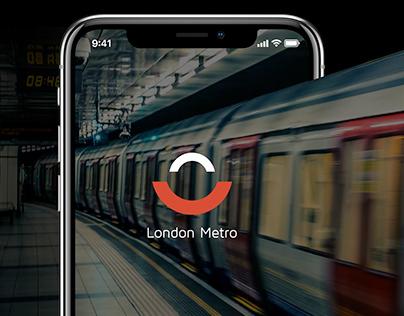 Metro Train Login Page
