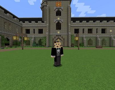 Boole World: George Boole Minecraft Project