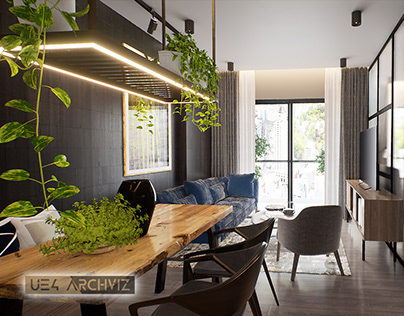 Unreal Engine 4 Modern Apartment Cinematic