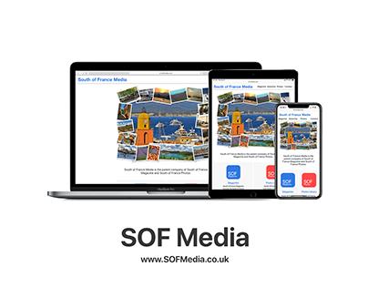 South of France Media Website