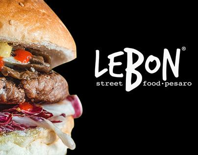 LEBON STREET FOOD - BRAND IDENTITY