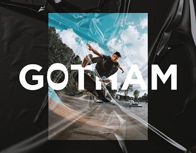 Gotham Skate Shop - Brand Identity