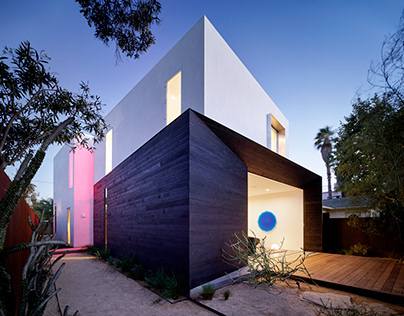 Spectral Bridge House in California by EYRC Architects