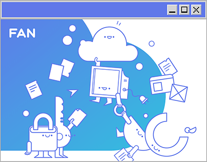 FAN - Visual Identity & Website