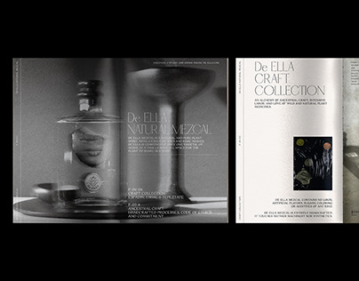 De ELLA Mezcal – Editorial Design.