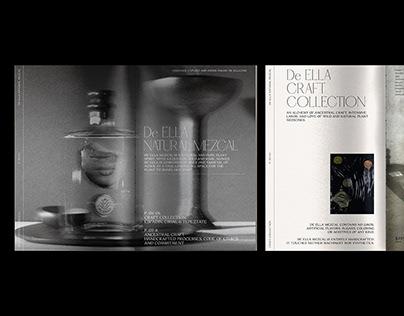 De ELLA Mezcal – Editorial Design.