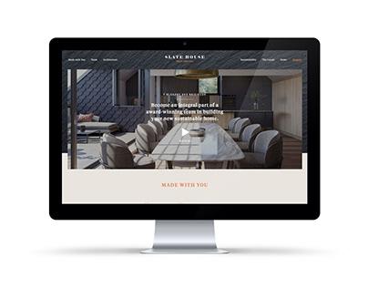 Slate House - Website