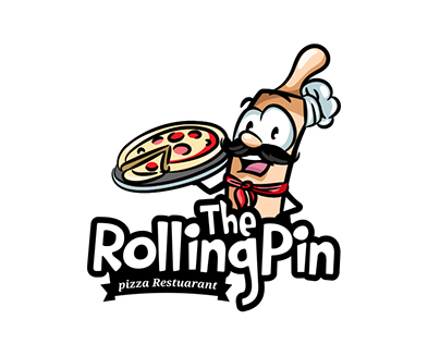 The Rolling Pin Logo/Mascot Design