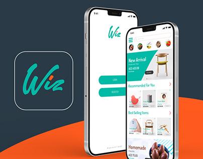 Full Brand development for Wiz, an eCommerce platform