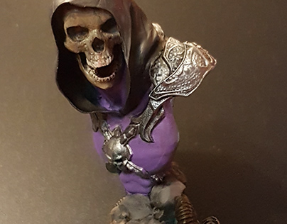 Skeletor 3D Print and Paint 90 mm