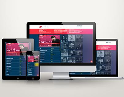 Diseño de Website - Luna Park