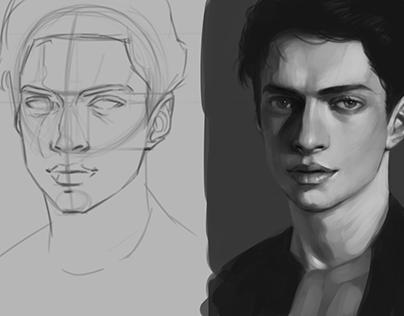 Male Portrait Studies