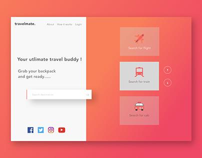 Travelmate Single Page