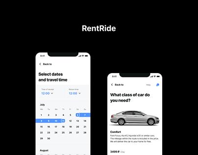 RentRide cities