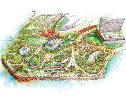 West Kowloon Cultural District Park