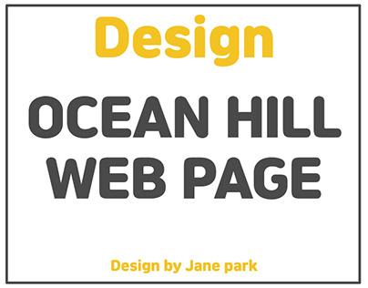 ocean hill web page