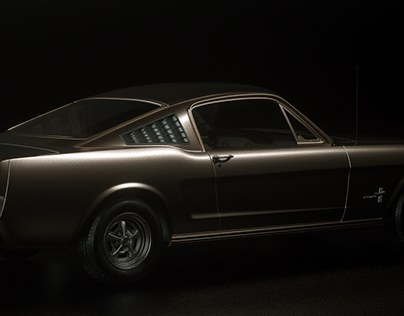 65 Ford Mustang Fastback