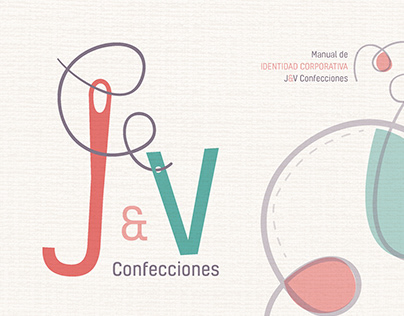 Manual de Identidad Corporativa J&V Confecciones