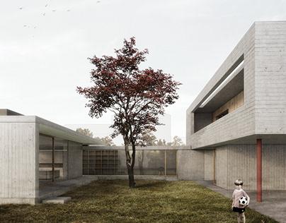 Concrete house @Padua