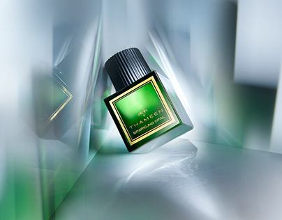 THAMEEN - SPARKLING OPAL PERFUME CAMPAIGN