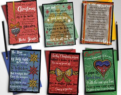 Seasonal Words / Christmas Card Range