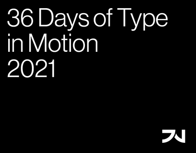 36 Days of Type in Motion