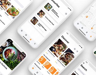 Vegan Radar - Mobile App Design