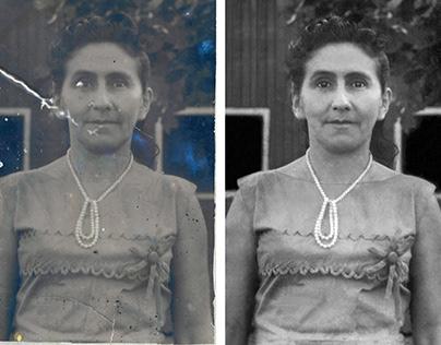 Restauração e edição de fotos antigas.