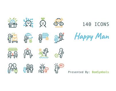 Happy Man Human Resource & Life Style