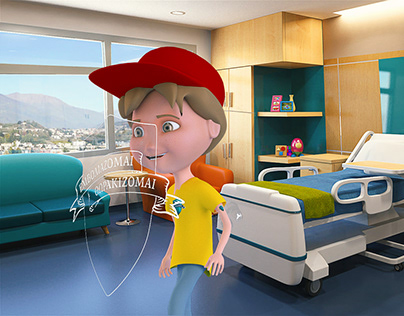 3d characters - Cartoon 3d kids - concept characters