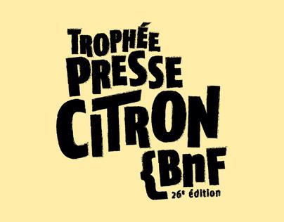 Trophée Presse Citron