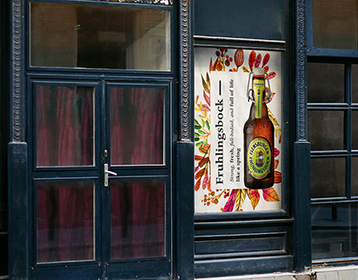 Posters for Flensburger beer