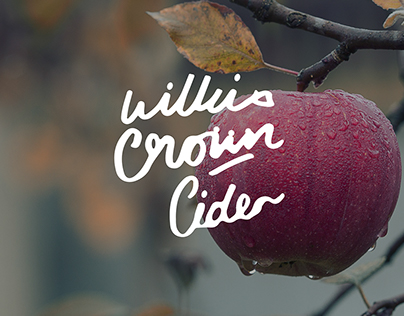 Wilkins' Crown Cider | Branding and Packaging