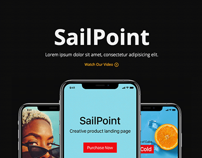 SailPoint | HTML Product Landing Page