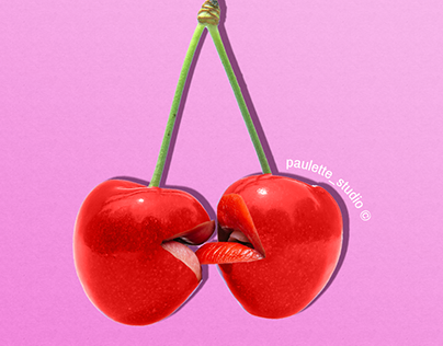 Cherries kiss ! 🍒