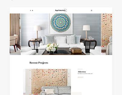 Fogel interiors Web Design