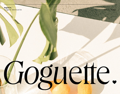 Goguette — Branding & Editorial Design