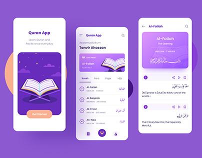 Quran App Concept