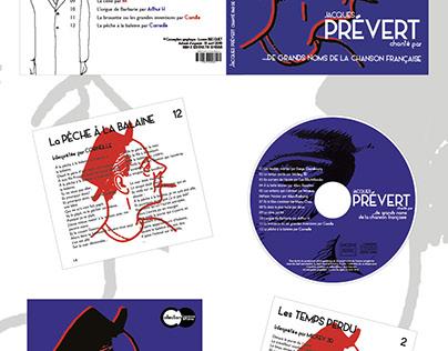 Digipack : Jacques Prévert
