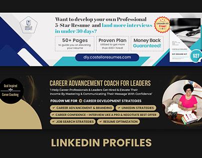 LinkedIn banners