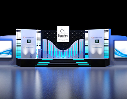 Banker Middle East Awards stage design