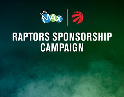 Raptors Sponsorship campaign_Lotto Max