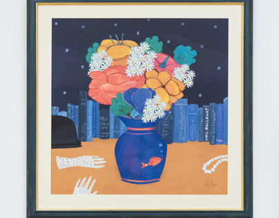 Still Life/Mrs. Dalloway's Flowers