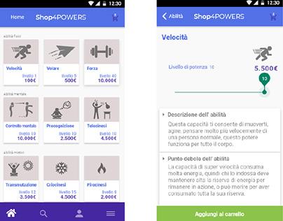 UX / UI Design - Shop4Power
