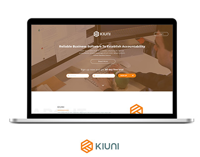 KIUNI Landing Pages