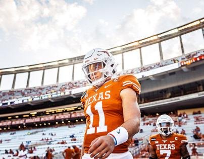 2020 Texas Football Photography